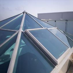 Glass Pyramids, Atriums, Domes, Roofs & Canopies