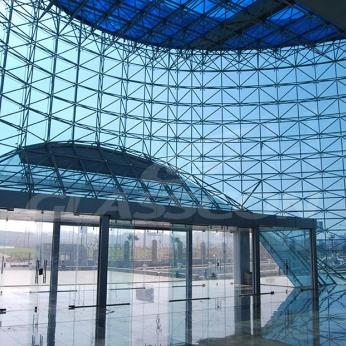 Spider Glass Curved Curtain Wall on MERO SPACE FRAME 3D TRUSS Glasscon 13.jpg
