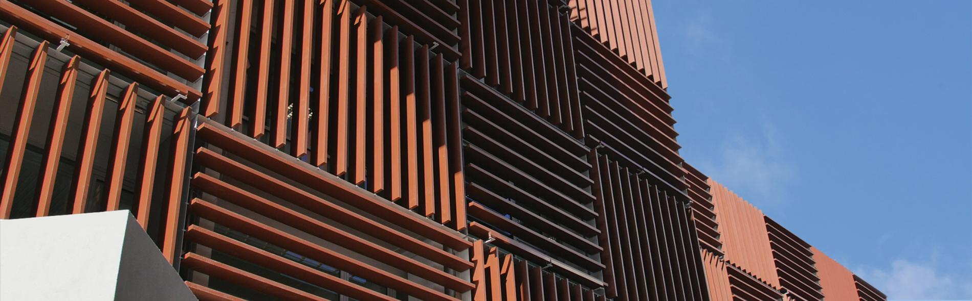 Architectural Building Skin - Kinetic Solar Shading System